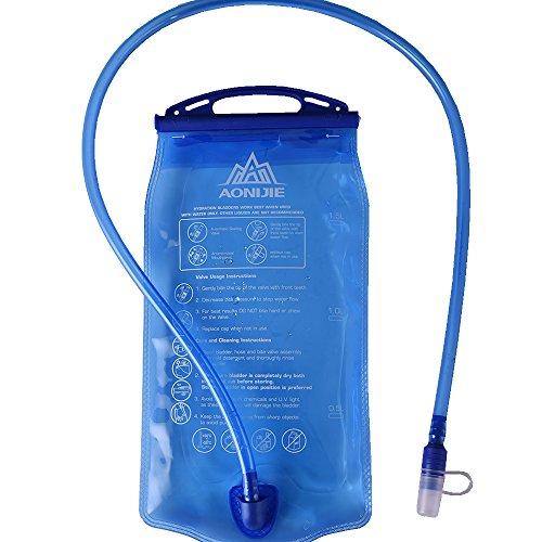 AONIJIE SD12 1L / 1.5L / 2L / 3L Faltbare Trinkrucksäcke Hydratation Blase Wasser Tasche Für Outdoor Sport Radfahren Wandern Marathon