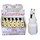 24 Bride Gown Bubbles Wedding Favours- NEW