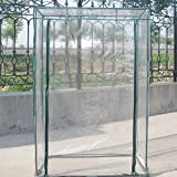 Greenhouse Cover Plant Cover Garden Tent PVC Green House for Grow Seeds, Seedlings, Potted Plants(without Stand) 30'' x 20'' x 60''