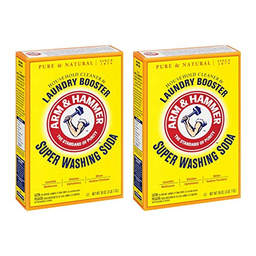 Arm & Hammer, Super Washing Soda Detergent Booster - 55 oz by Arm & Hammer (2pack)