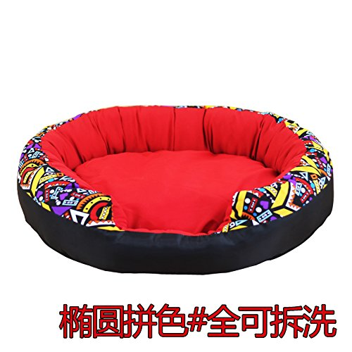Red-M Xiaoling trade The dog wo dog house small dog house four seasons universal removable removable wash pet wo wo,RED-M cats.