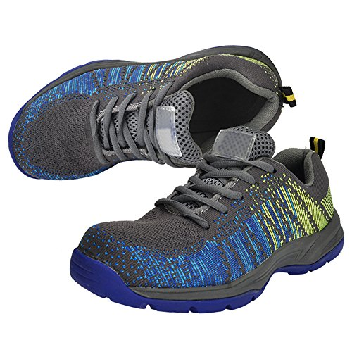 Shoes Optimal Blue Men's Safety Work Shoes Gray Toe Shoes Composite Yellow x8W8wq0SrT
