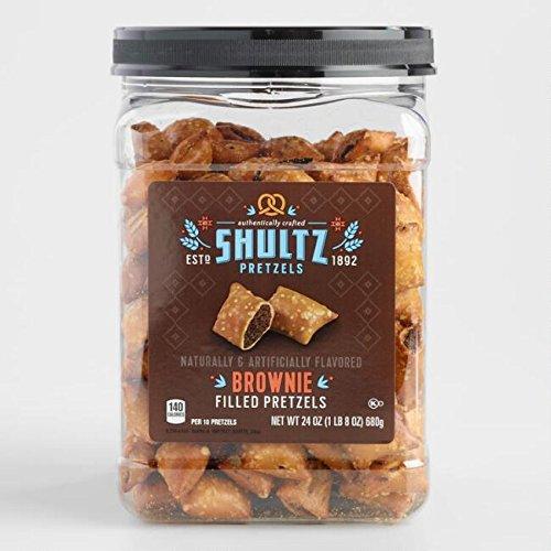 - Shultz , Brownie Filled Pretzels