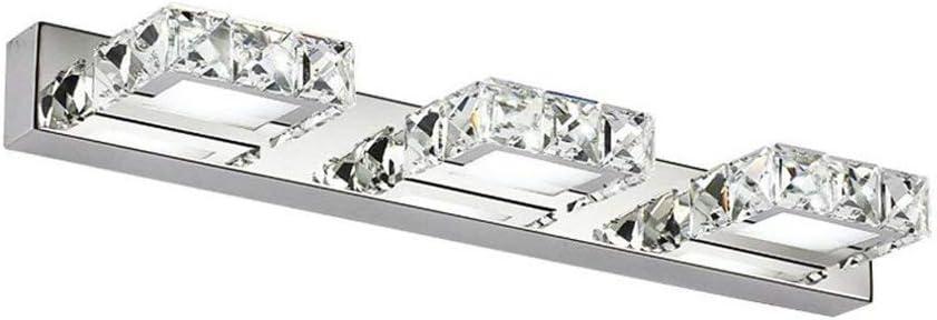 Ikakon Vanity Lights LED Bathroom Lighting Fixtures 3-Lights for Bathroom