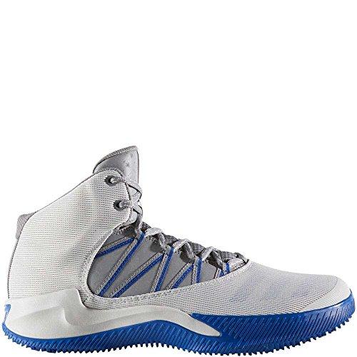 adidas Originals Men's Ball 365 Inspired Basketball Shoe, Grey One/Grey Three/Collegiate Royal, 10 Medium US