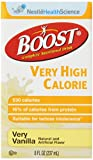 breeze nutritional supplement - Boost VHC Very High Calorie Complete Nutritional Drink, Very Vanilla, 8 fl oz Box, 27 Pack