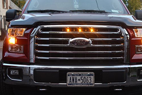 2015-2017 Ford F 150 Raptor Style Grille Light KIT Plug & Play Custom Style Grill