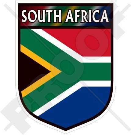 SOUTH AFRICA African Shield 100mm (4