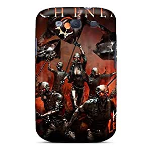 Shock-Absorbing Hard Cell-phone Case For Samsung Galaxy S3 (ksv18397SGux) Unique Design High Resolution Papa Roach Pattern