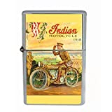 INDIAN MOTORCYCLE 1918 WORLD WAR I MILITARY Dual Torch Lighter D-289