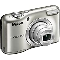 Nikon COOLPIX L31 CR 2.7 inch Lens 16.1MP Compact Digital Camera (5x Optical Zoom, 720P Video, Silver) (Certified Refurbished)