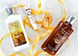 Vital Luxury Signature Dreamy Glow Body Lotion and Shower Gel Set For Sale