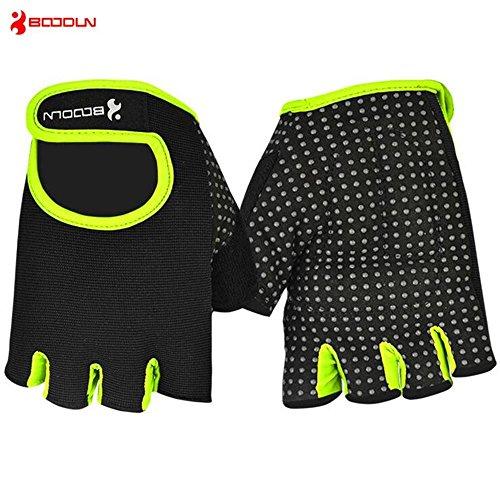 CHSUKHO Gants de fitness, hommes et femmes antidérapants antidérapants, gants de sport respirants