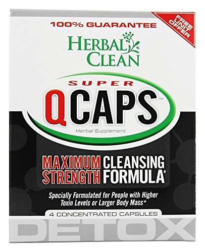 B.N.G. Herbal Clean Super Quick Caps 45 Min 4 Cap