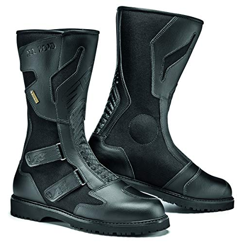 Sidi All Road Gore Tex Motorcycle Boots Black US9.5/EU43 (More Size Options)