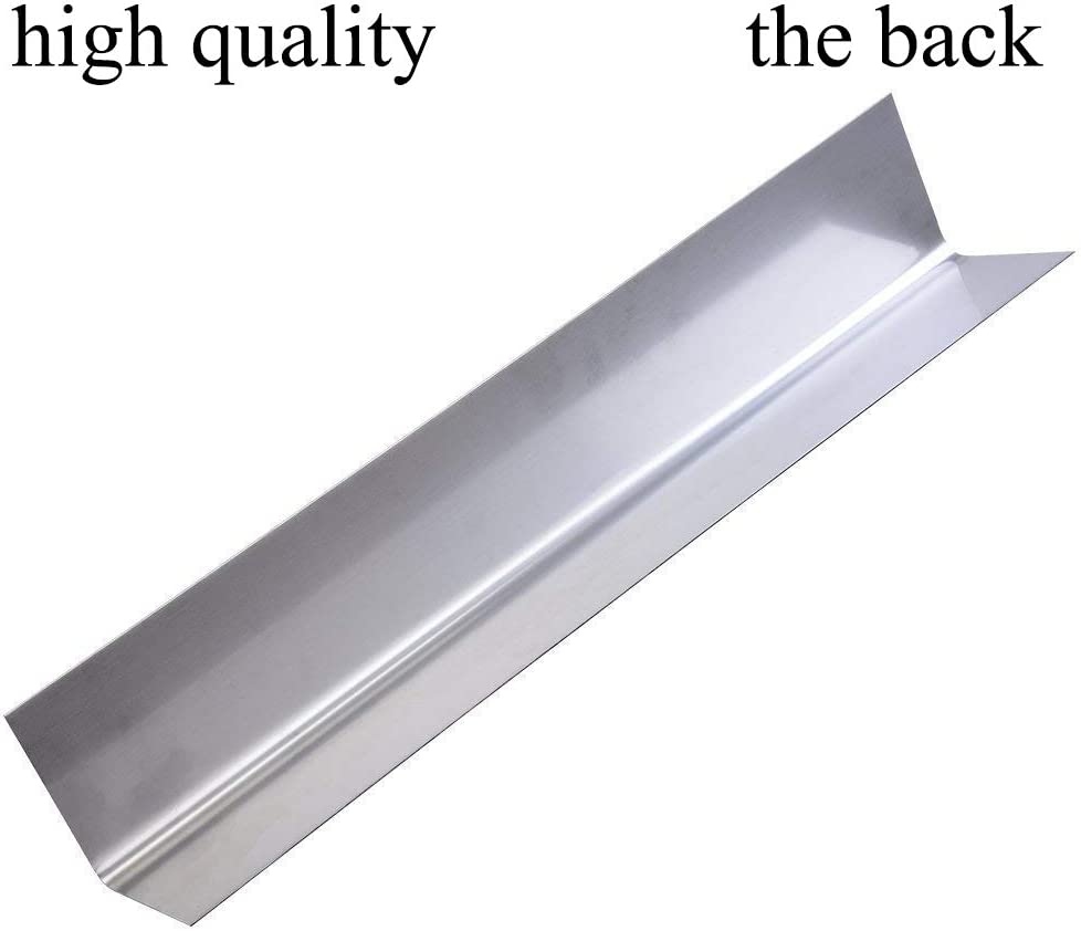 Stainless Steel Flavor Bar Replacement for Weber 7620 GGC 17.5 inch Flavorizer Bar for Weber Genesis 300 series,Genesis E310 E320 E330 S310 S320 S330 EP-310 EP-320 EP-330 5-Pack, 17.5x2.25x2.375