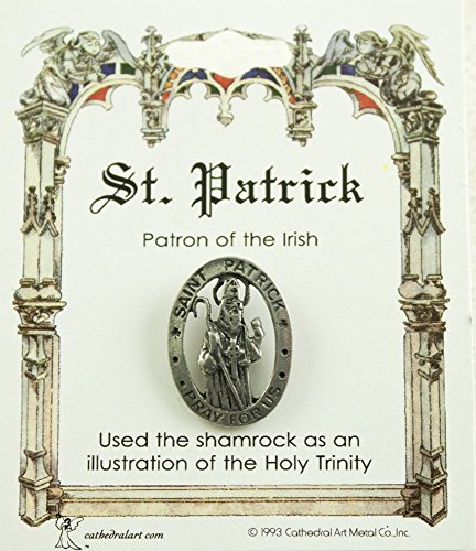 Cathedral Art TS14P St. Patrick of The Irish Pin