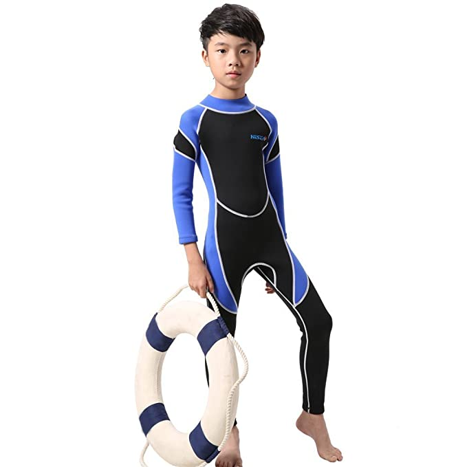 07a48d204c Amazon.com  Nataly Osmann Wetsuits Kids 2.5mm Neoprene Full Suit ...
