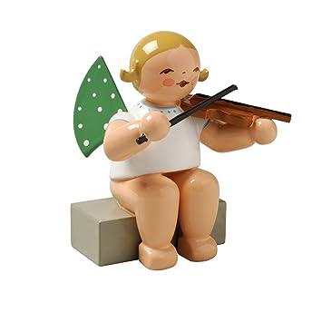 Wendt /& Kühn Engel mit Geige Sitzend 650//2A