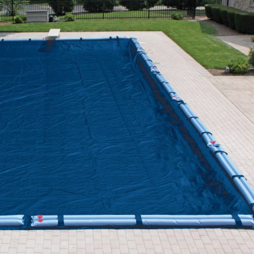 Eight24hours Economy Winter Cover for Inground Rectangular Pools - 16