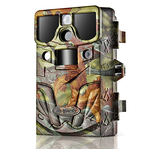 Flexzion Game and Trail Hunting Scouting Camera - 12MP 1080P HD, IP66 Waterproof, PIR Motion Detector Sensor, Predator Call, Wide Angle Color Night Vision Video Audio Digital Recording - Color Vision Code Discount