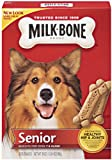 Milk-Bone Senior Biscuits for Dogs, 20-Ounce Boxes (Pack of 12), My Pet Supplies