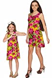 PINEAPPLE CLOTHING Indian Summer Sanibel Empire Waist Floral Mommy and Me Dresses 4 X-Large