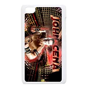 Personalized Durable Cases Ipod Touch 4 White Phone Case Scmjx John Cena Protection Cover