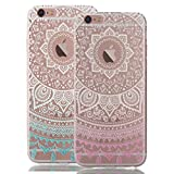 iPhone 6S Plus Case, iPhone 6 Plus Case,RorSou Slim Fit[Crystal Clear][Scratch Resistant]Flexible Grip Soft TPU Protective Cover With 1 Earphone Dust Plug For Apple iPhone 6S Plus 5.5 inch (2 Pack)