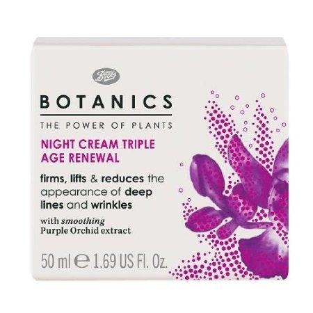 Boots Botanics Triple Age Renewal Night Cream 1.69 fl oz (50 ml)