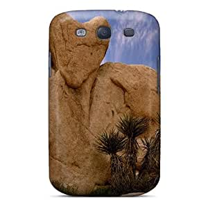 Cute Appearance Cover/tpu GSCwVCw4593KMOyy Rock Heart In Joshua Tree Np Case For Galaxy S3
