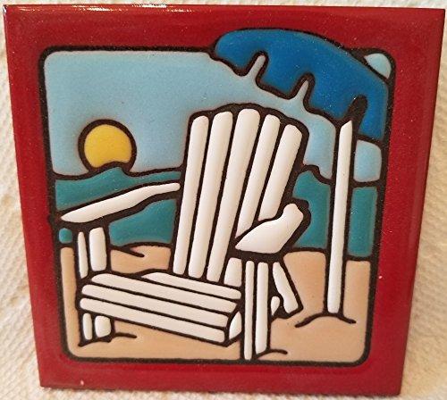 Beach Scene Tile (4