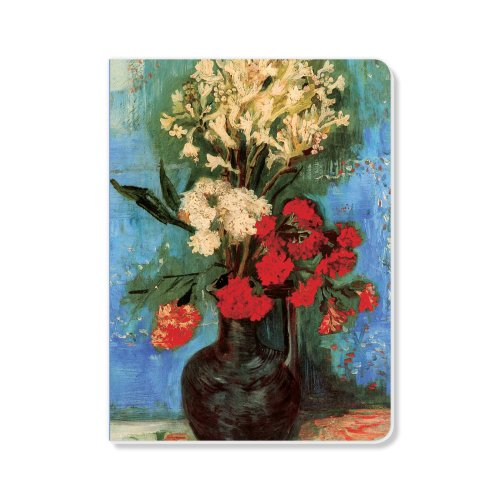 ECOeverywhere Vase with Carnations and Other Sketchbook, 160 Pages, 5.625 x 7.625 Inches (sk12760) by ECOeverywhere