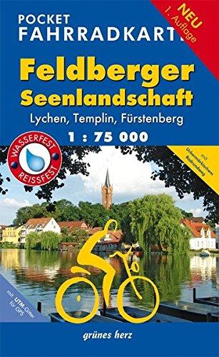 Pocket-Fahrradkarte Feldberger Seenlandschaft: Maßstab 1:75.000. Wasser- und reißfest. (Fahrradkarten)