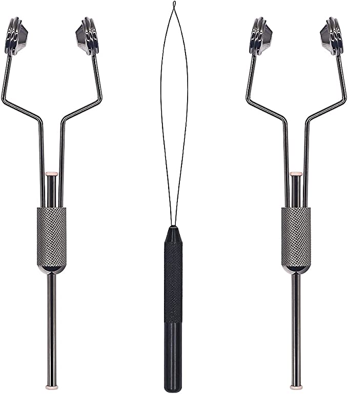 Griffin Ceramic Bobbins Fly Tying Tools High Quality Stainless Steel Both Types