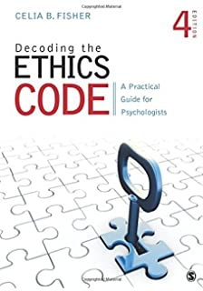 Amazon ethics in psychology and the mental health professions decoding the ethics code a practical guide for psychologists fandeluxe Image collections