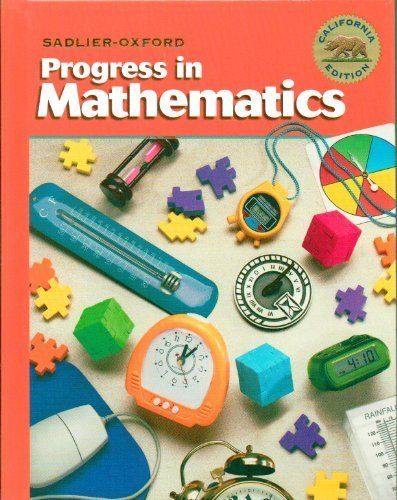 Progress in Mathematics Level 4 California Edition