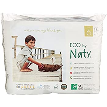 Nature Babycare Eco Pull On Pants, Size 6 (18count)