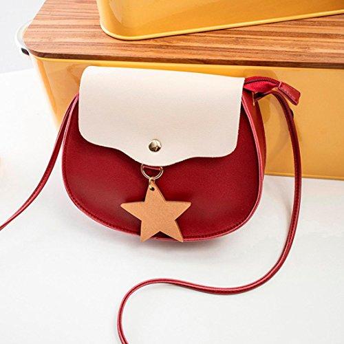 Travel Women Womens Travel Bag Bag Tote Tote Red Handbags Bag Hit Phone School Jimmkey Bag Messenger Shoulder Color Bag Crossbody Satchel Shoulder Rucksack T7Tdwq