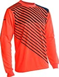 Vizari Arroyo Goalkeeper Jersey, Neon Orange/Navy, Size Youth Medium