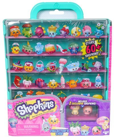 [Shopkins Collectors Case - Season 5 Green] (Pillowcase Dress Costume)