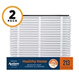 indoor allergen - Aprilaire 213 Healthy Home Air Filter for Aprilaire Whole-Home Air Purifiers, MERV 13, for Most Common Allergens (Pack of 2)