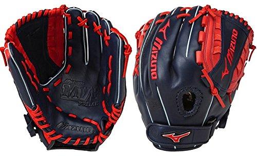 Mvp Fastpitch Softball Glove (Mizuno MVP Prime SE 12 Inch GMVP1200PSEF5 Fastpitch Softball Glove - Navy/Red)
