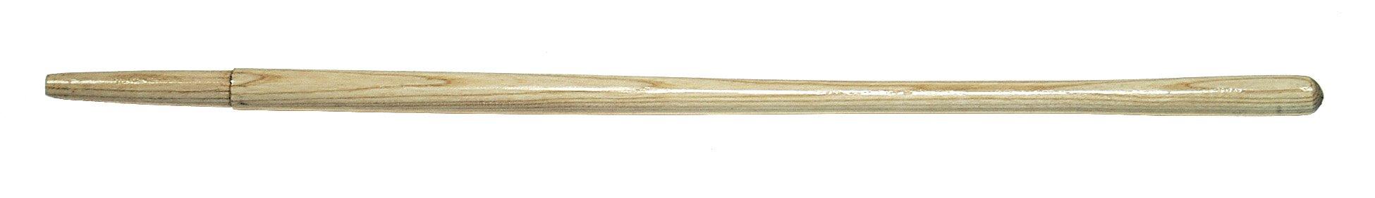 Link Handles 66800 Closed Back Solid Socket Shovel Handle with Shoulder, Clear Finish, 6-1/2'' Chuck, 1-1/2'' Diameter x 46-1/2'' Length