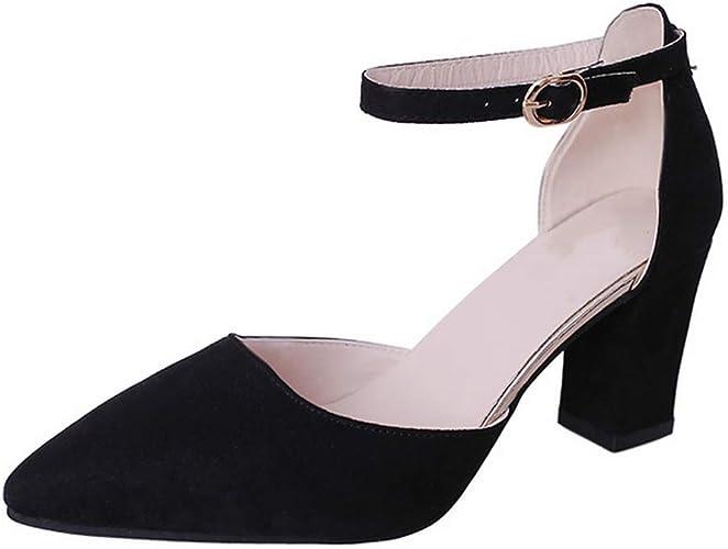 Getmorebeauty Women/'s White Black Peep Toes Buckle Dress Dance Heeled Sandals