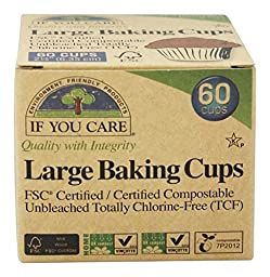 If You Care Baking Cup Large, 60 ct