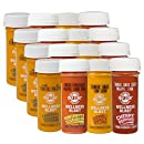 PULP STORY Cleanse Pack Cold Pressed Turmeric Juice Multi Flavor Wellness Shots, 2 Ounce (Pack of 16)