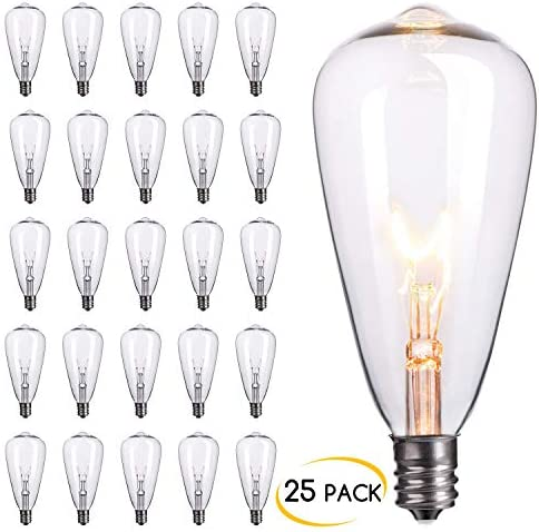 Brightown 25 Pack Replacement Candelabra Outdoor product image