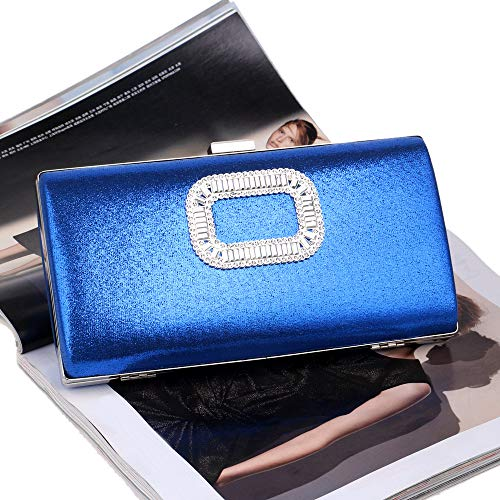 Blauw Avond Feestjurk Bag Dames Clutch xwZI4Egq