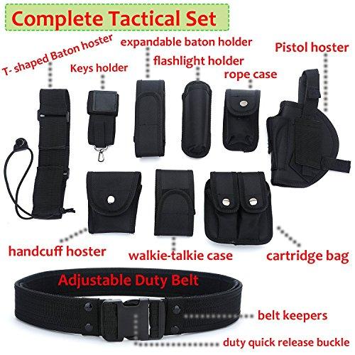 YAHILL® Ceinture Tactique Utilitaire, Équipement de Police de sécurité Application de Loi, Équipement Lourd d'officier… 5